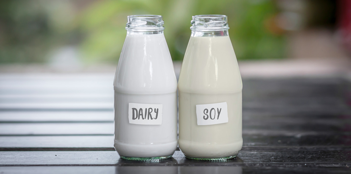 Soy Milk vs  Cow's Milk: What's the Difference?