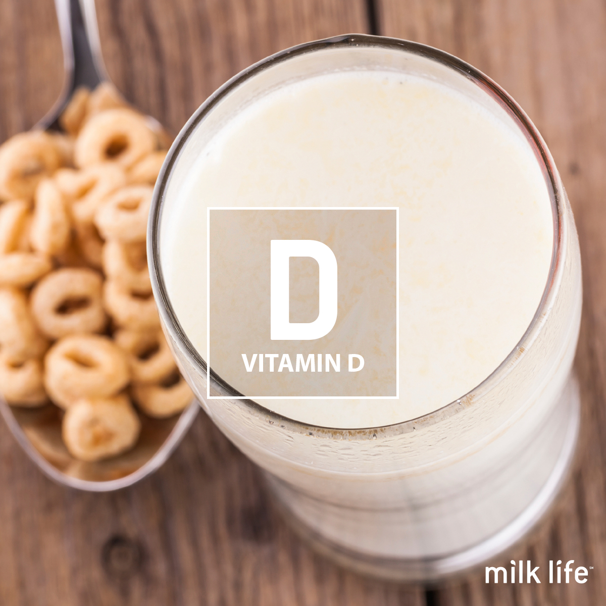 Vitamin D is a nutrient in milk