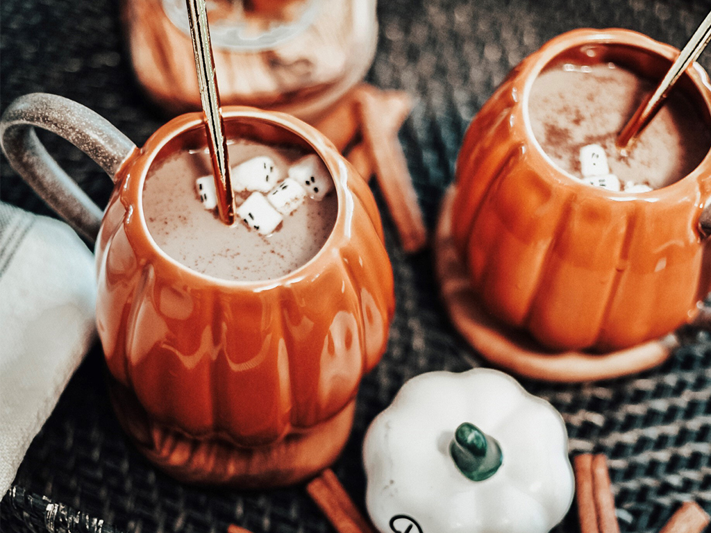 Chocolate pumpkin spice moon milk