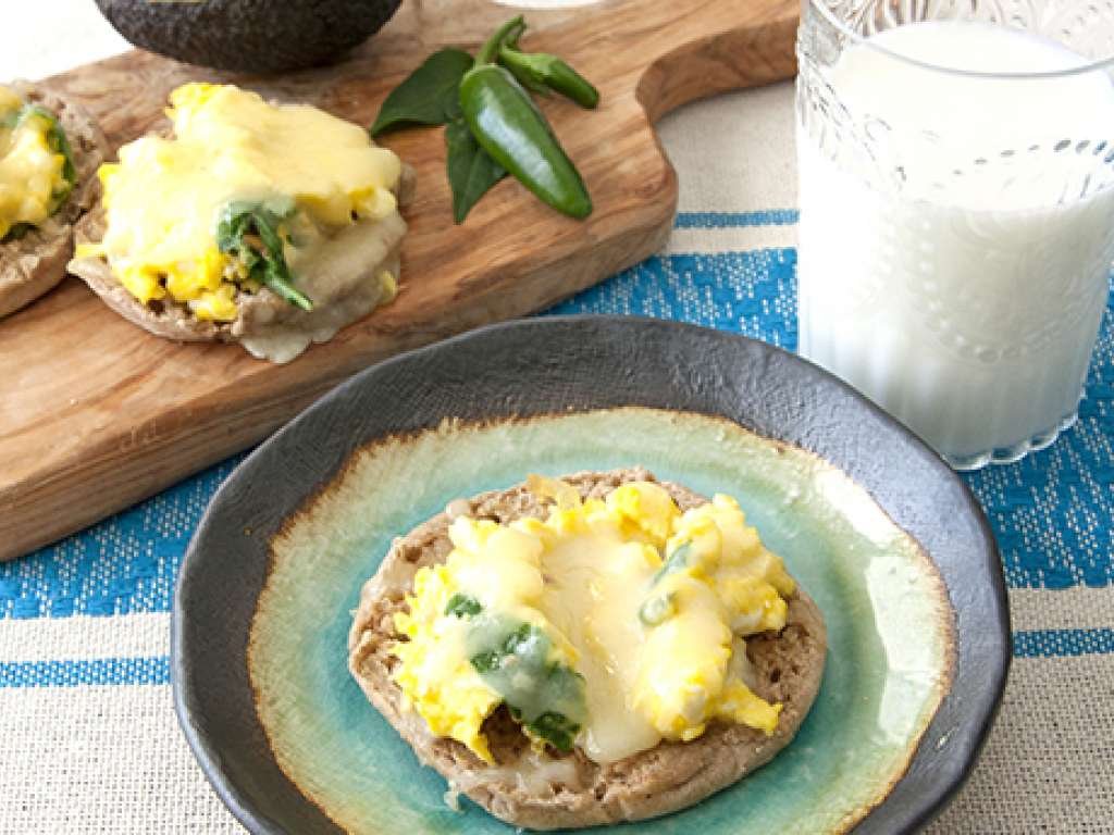 Southwest Breakfast Pizzas Recipe