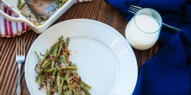Green Bean and Shallot Casserole