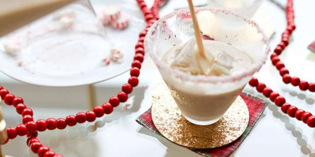 Candy Cane White Russian