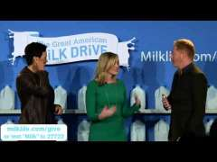 The Launch of The Great American Milk Drive