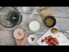 Jumpstart Your Breakfast with a Strawberry Smoothie Recipe